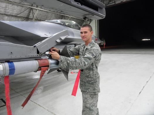 Senior Airman Cameron Hansen, 51st Maintenance Group