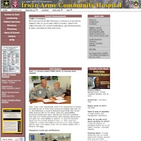 http://iach.amedd.army.mil/ - Official website of Irwin Army Community Hospital