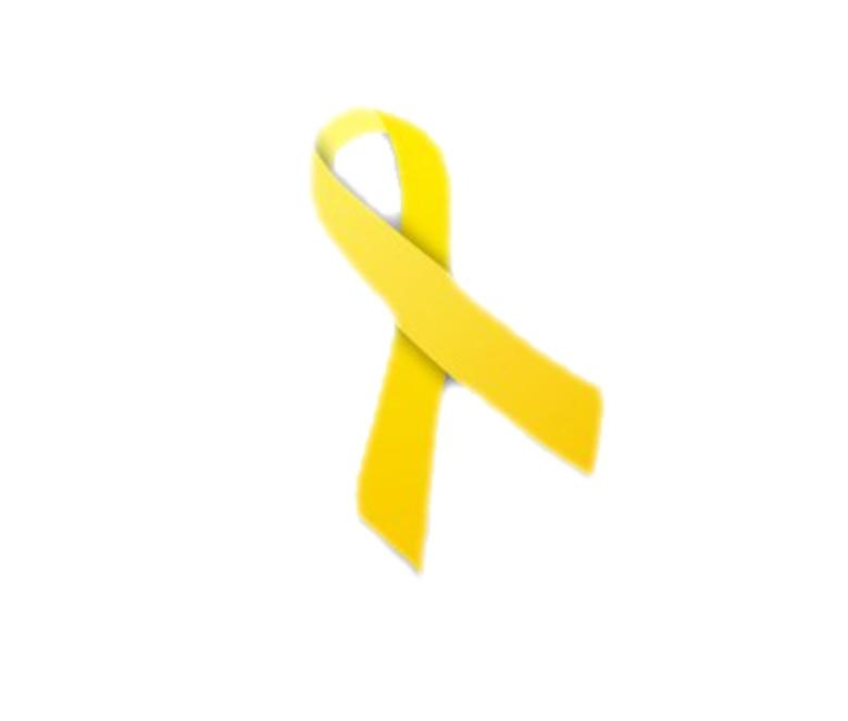 Yellow ribbon graphic.