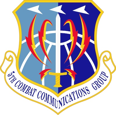 5th Combat Communications Group shield