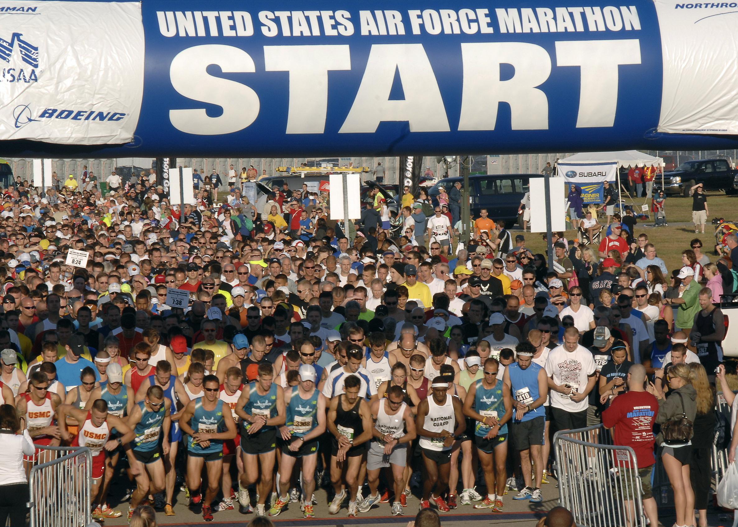 best fall marathons 2015