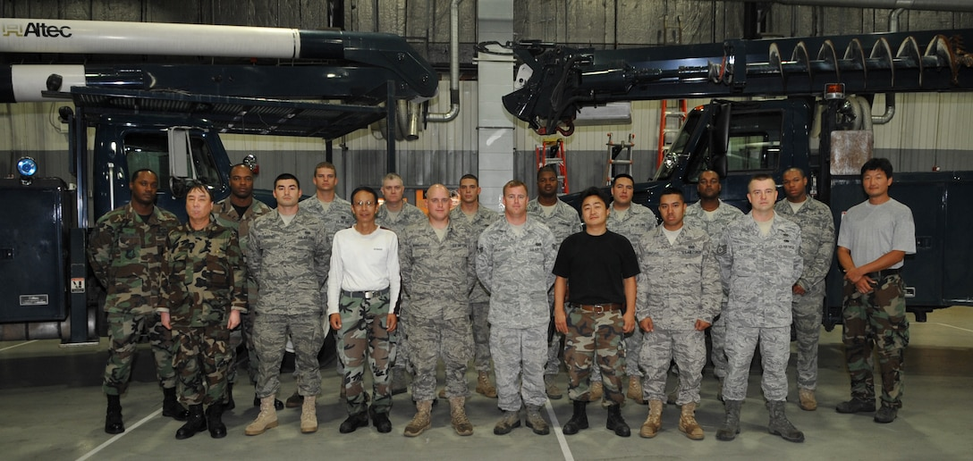 Airman Spotlight: 51st Civil Engineer Squadron electricians