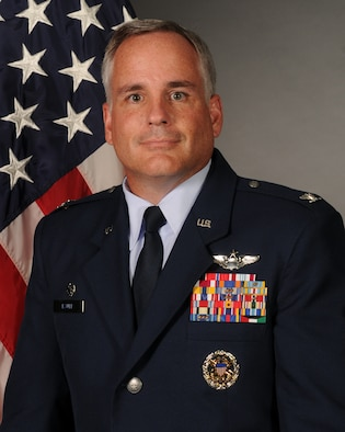 Col. Mike Bauer, 314th Operations Group commander