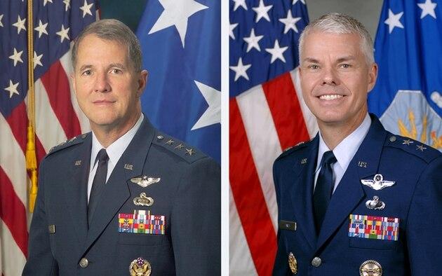 Lt. Gen. Ted Bowlds & Maj. Gen. Charles Davis