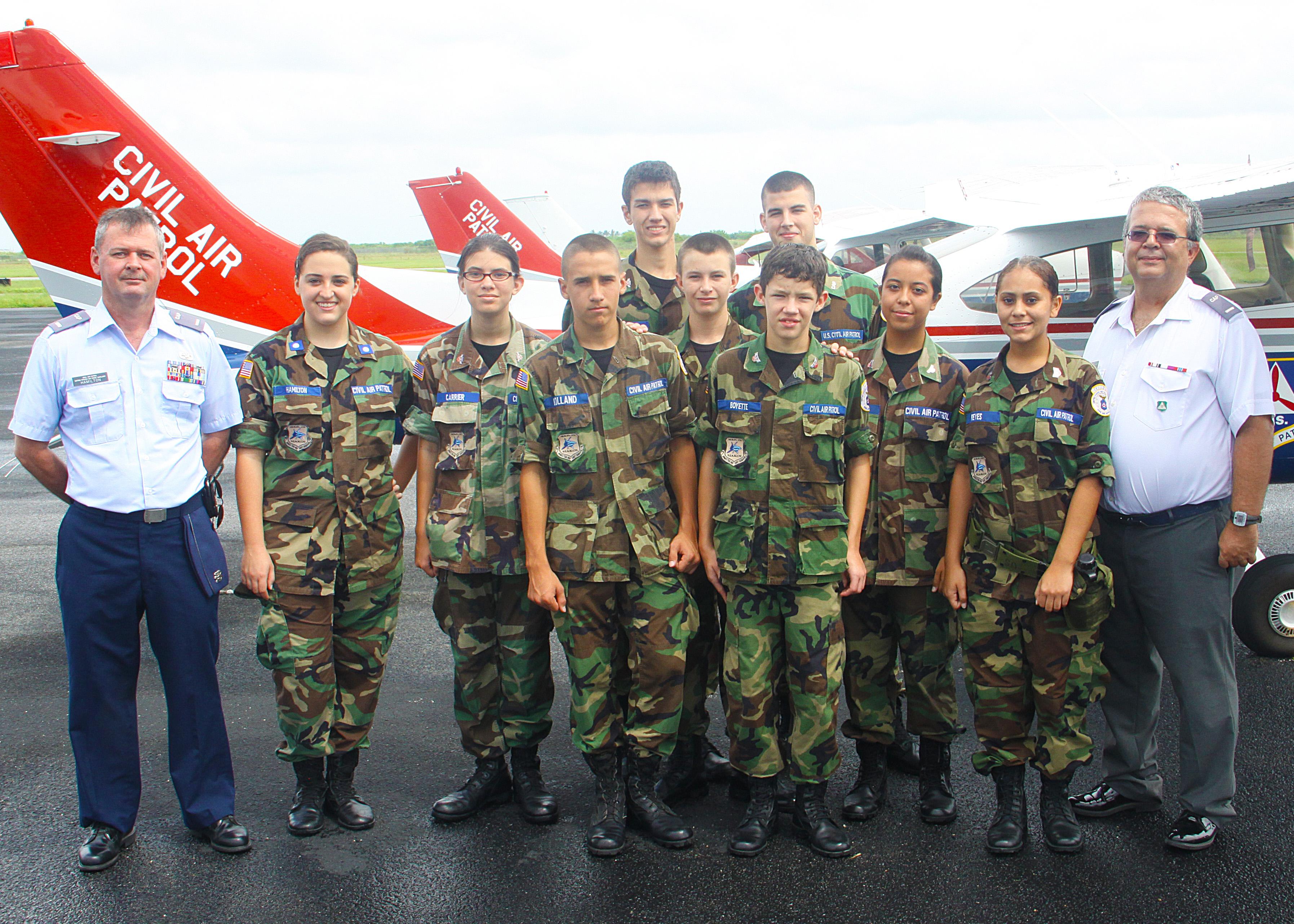 13a57234c8d PHOTO DETAILS   DOWNLOAD HI-RES 2 of 3. The 279th Civil Air Patrol during  ...