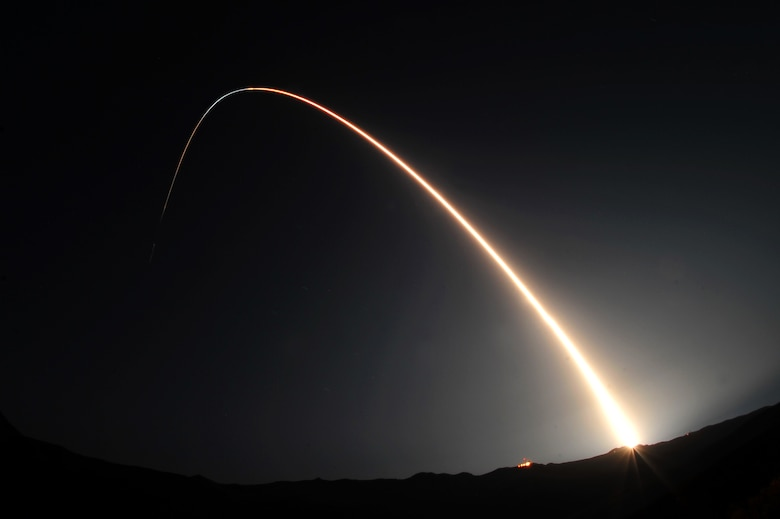 VANDENBERG AIR FORCE BASE, Calif. - Team Vandenberg launched a Minotaur IV rocket at 9:41 p.m. Saturday, Sept. 25, 2010, from Space Launch Complex-8 here.The Minotaur IV launched the Space-Based Space Surveillance satellite, a first-of-its-kind satellite that can detect and track orbiting space objects from space. (U.S. Air Force photo/Senior Airman Andrew Lee)