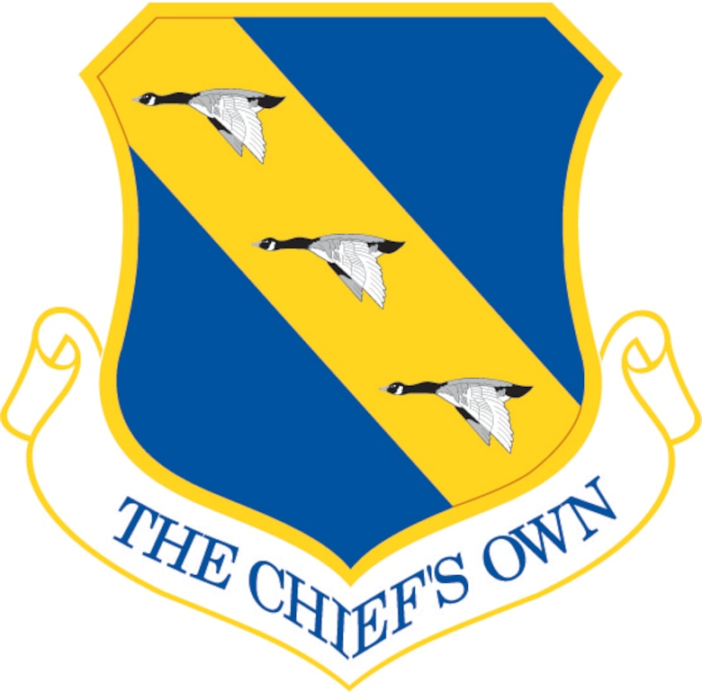 11th Wing shield (color), U.S. Air Force graphic