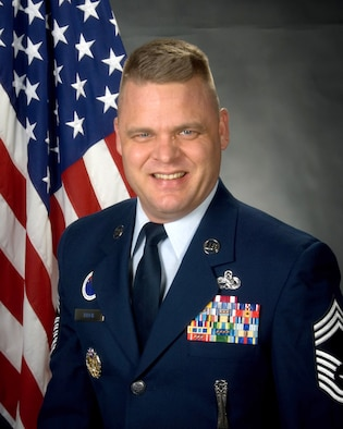 McGHEE TYSON AIR NATIONAL GUARD BASE, Tenn. - Offiicial photograph of Chief Master Sgt. Donald E. Felch, commandant of the Paul H. Lankford Enlisted Professional Military Education Center at The I.G. Brown Air National Guard Training and Education Center here.