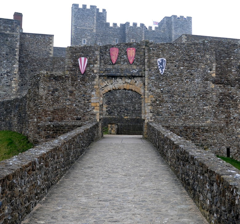 DOVER, England – This outer defense to the King's Gate at Dover Castle was built in the 12th century.  Participants in an RAF Lakenheath Information Tickets and Travel trip went to the castle March 26, 2011. (U.S. Air Force photo/Staff Sgt. Stephen Linch)