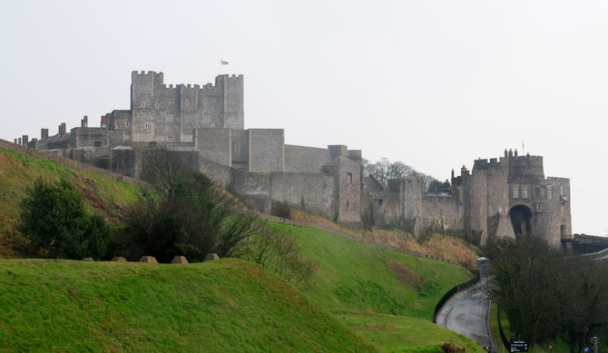 DOVER, England – Dover Castle and the Secret Wartime Tunnels is one of the many attractions Airmen can visit while stationed in England. Participants in an RAF Lakenheath Information Tickets and Travel trip went to Dover Castle on March 26, 2011. RAF Lakenheath ITT offers several trips every month to castles and stately homes around the United Kingdom. (U.S. Air Force photo/Staff Sgt. Stephen Linch)