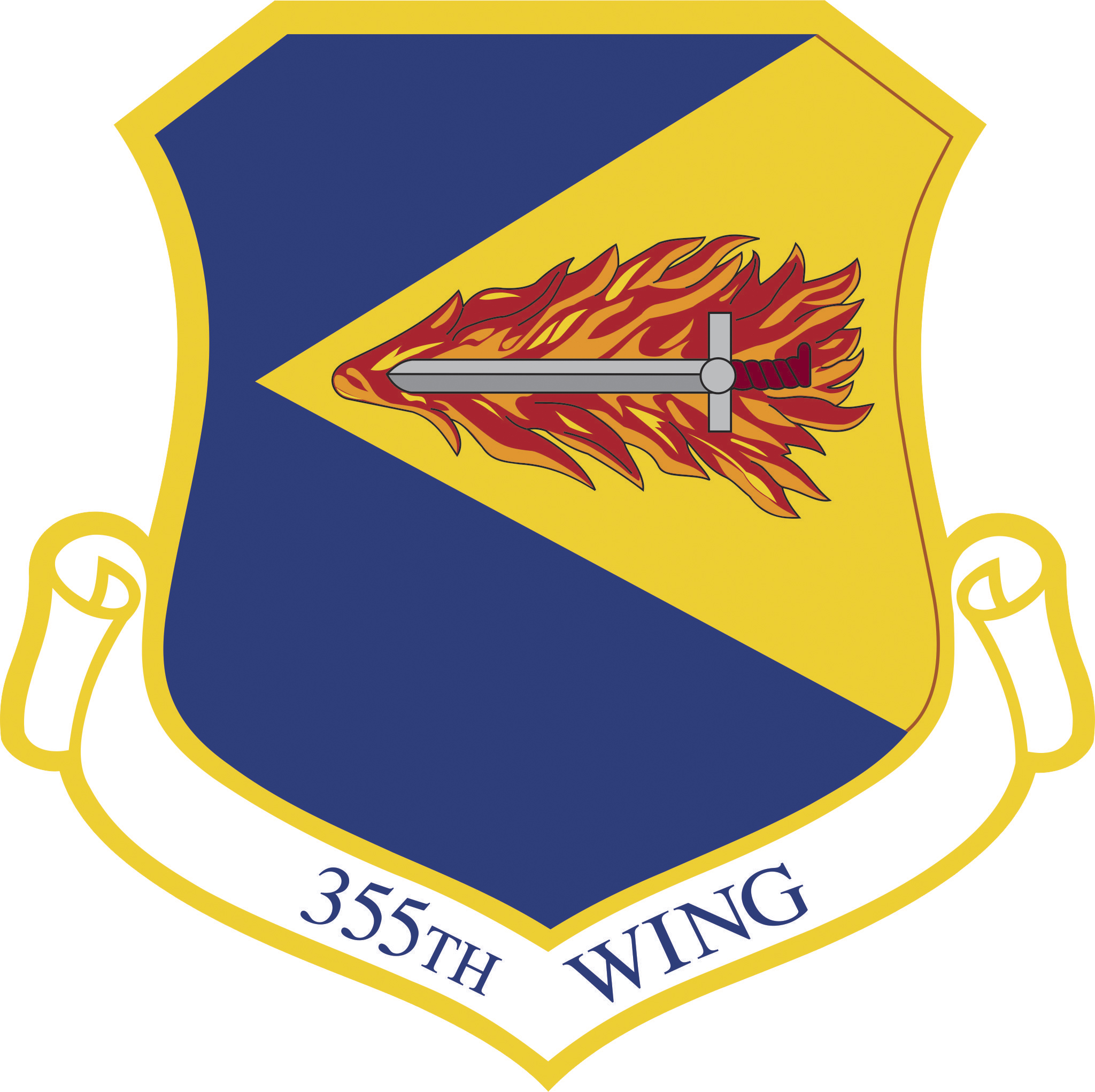 355th Wing shield