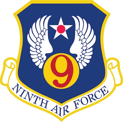9th Air Force Shield