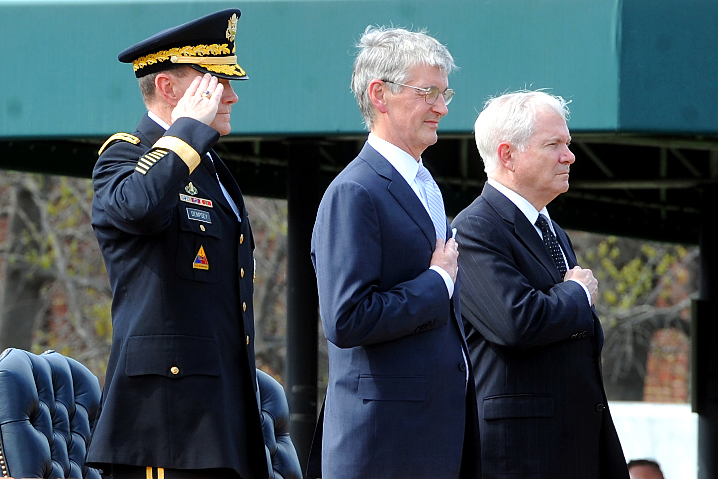 Army chief of staff swearing in