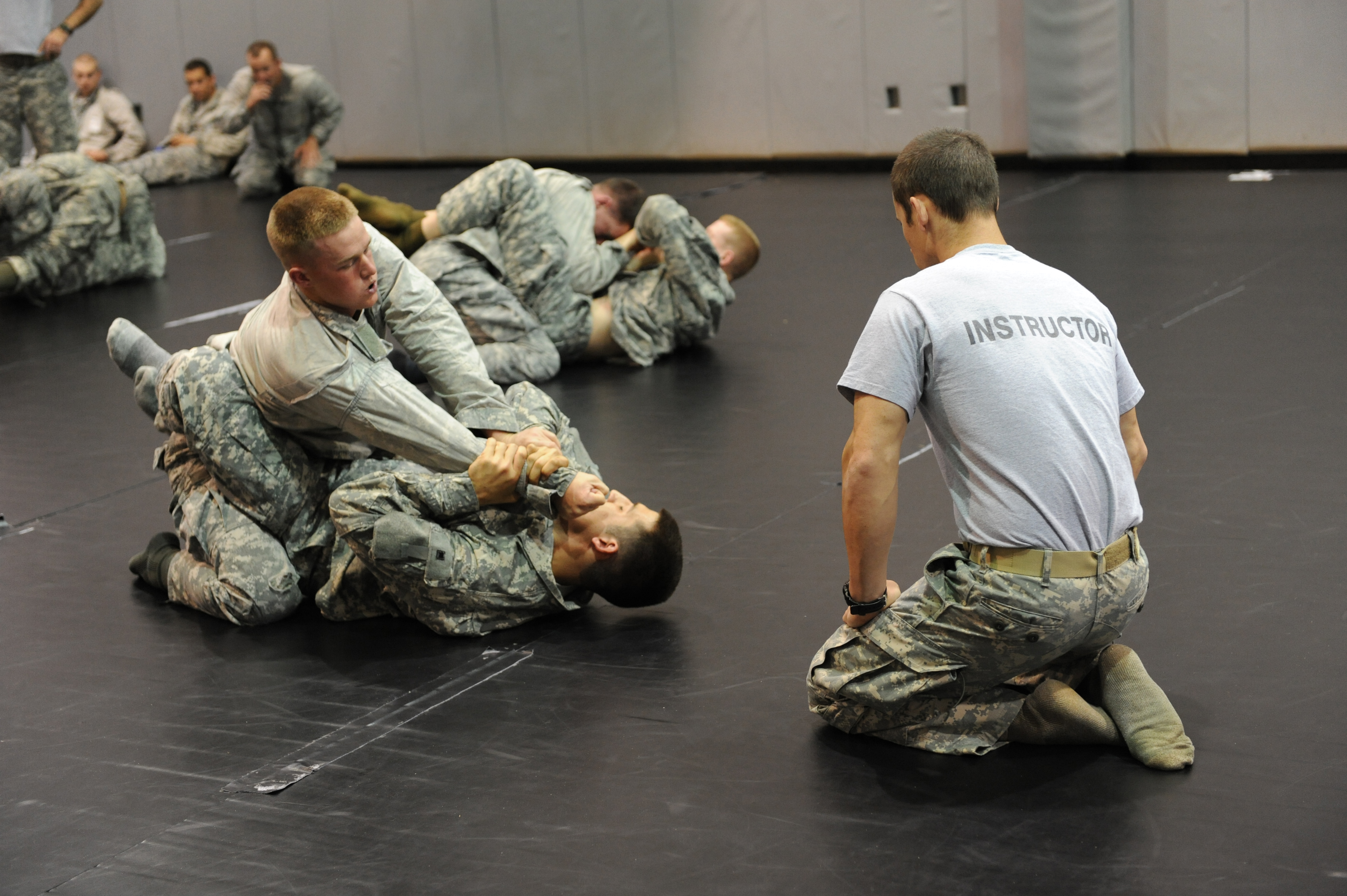 air force first tacp students get combative
