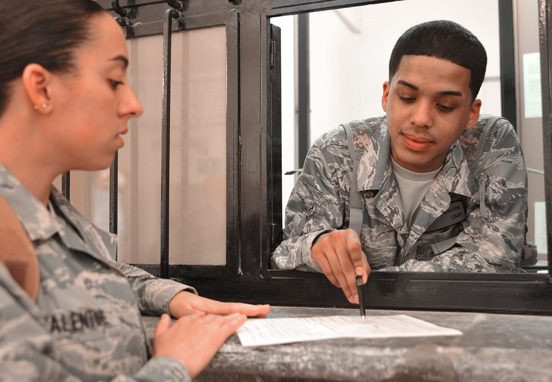 Pay Chart Military: Airman delivers cash military pay services to austere locations ,Chart