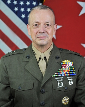 general john r allen u s department of defense biography view