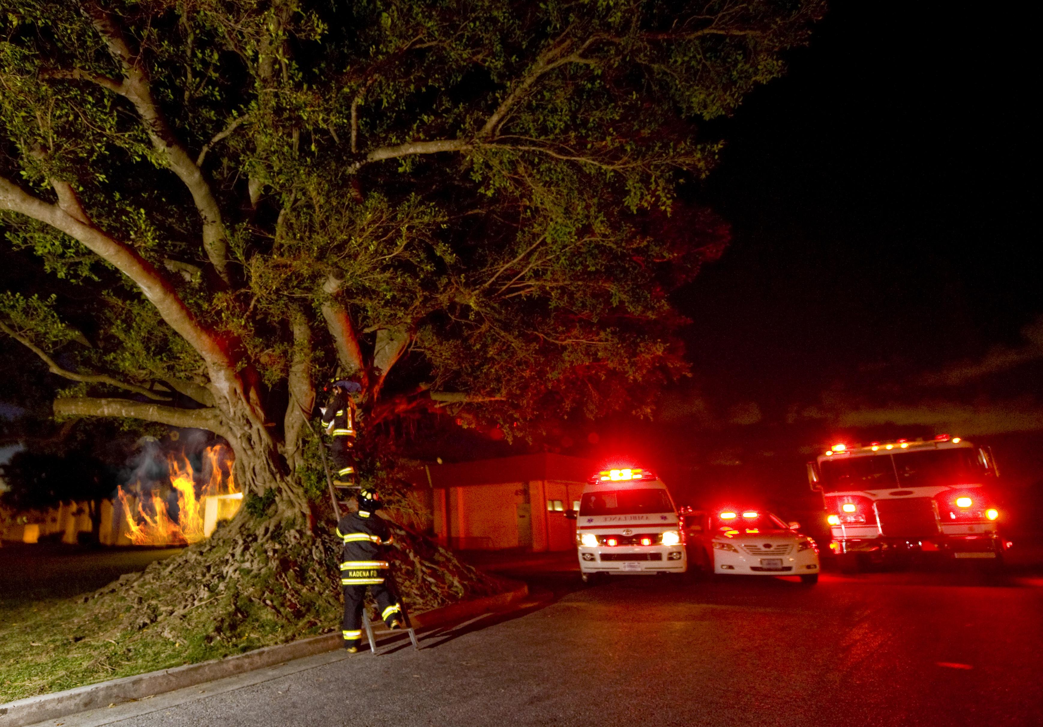 Properly Assess Emergencies To Limit 911 Calls Kadena Air Base Onefire Clover Night Lamp