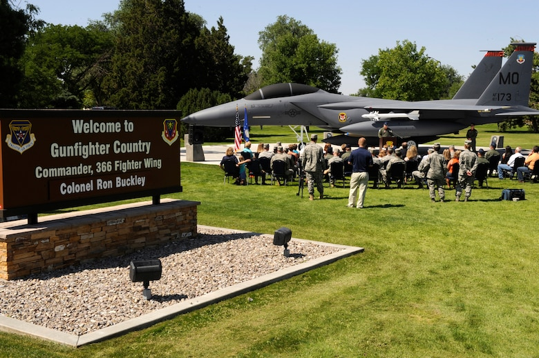 MOUNTAIN HOME AIR FORCE BASE, Idaho – The 391st Fighter Squadron F-15E Strike Eagle, tail number 173, was the lead aircraft of a two-ship formation that flew the longest combat sortie ever by a United States fighter aircraft. In a combined total of 15 hours and 32 minutes the aircraft and its crew lasted to participate in the Kabulki Dance Mission.