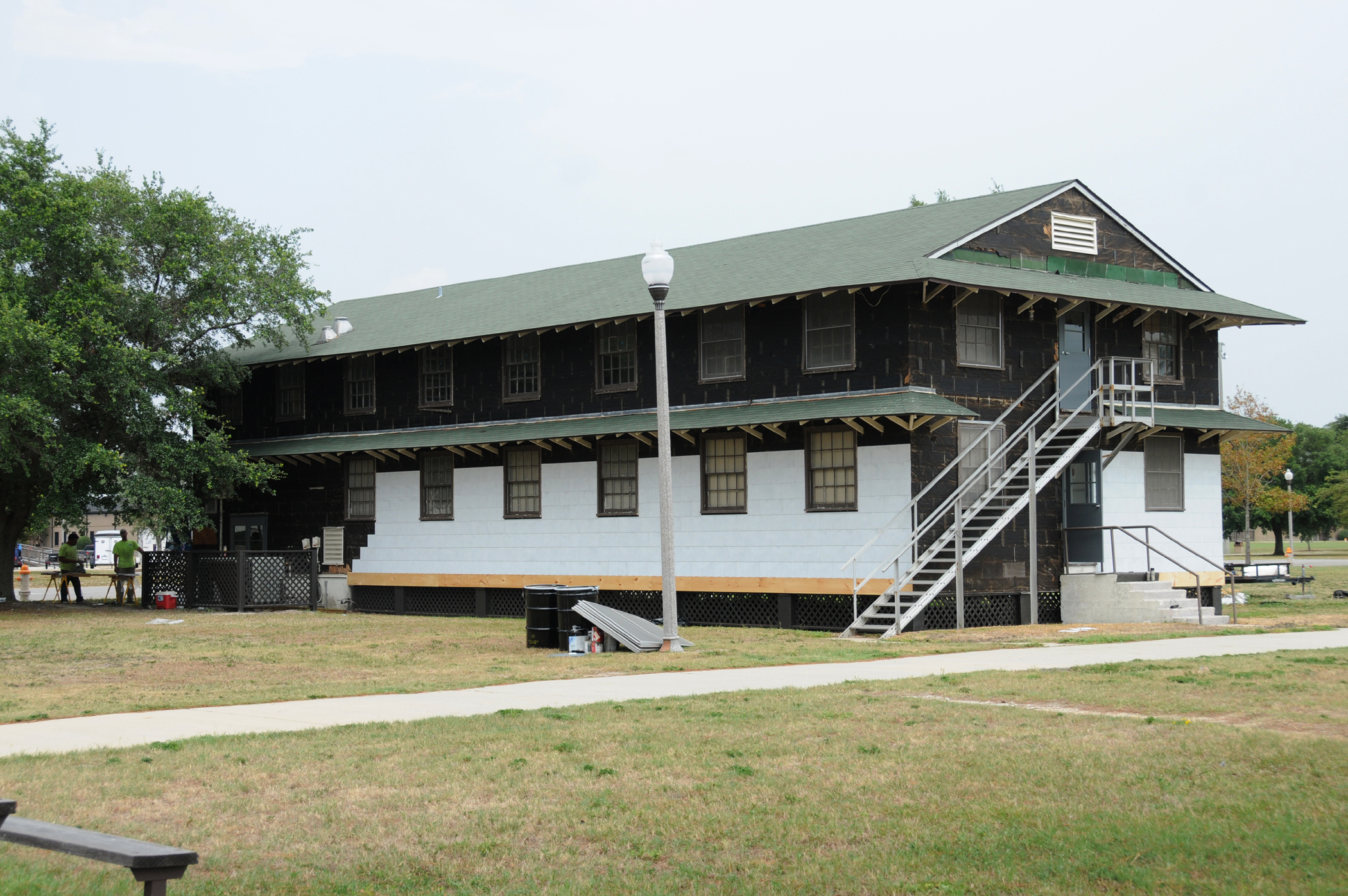Old Barracks Undergoes 21st Century Renovations Gt Keesler