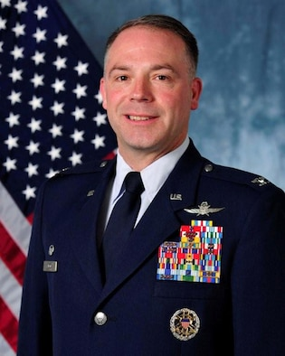 Colonel Craig A. Wilcox, 89th Airlift Support Group commander
