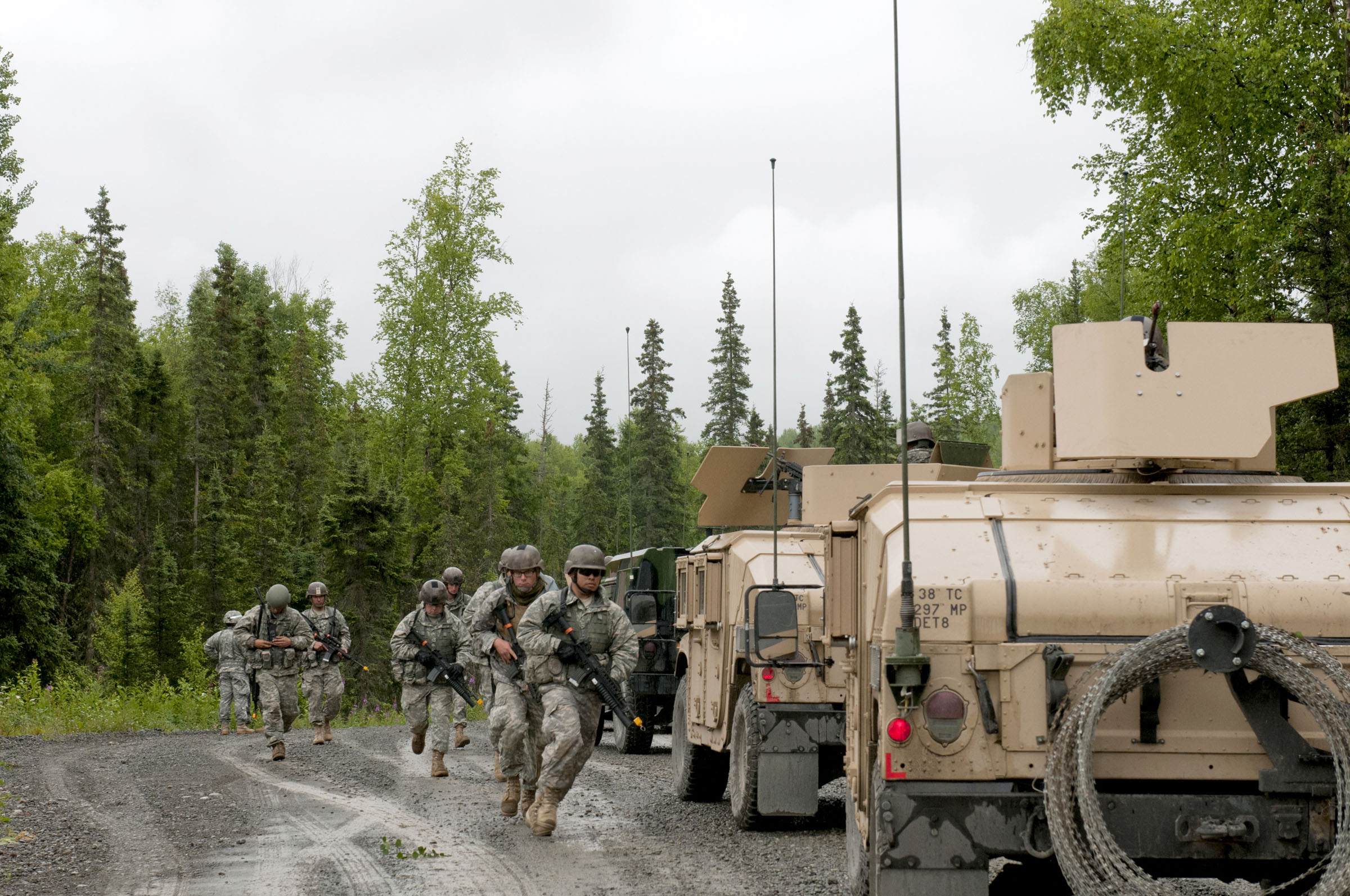 Alaska Army National Guard regiment gears up for fall