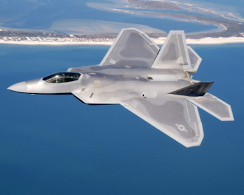 f 22 raptor tyndall air force base display