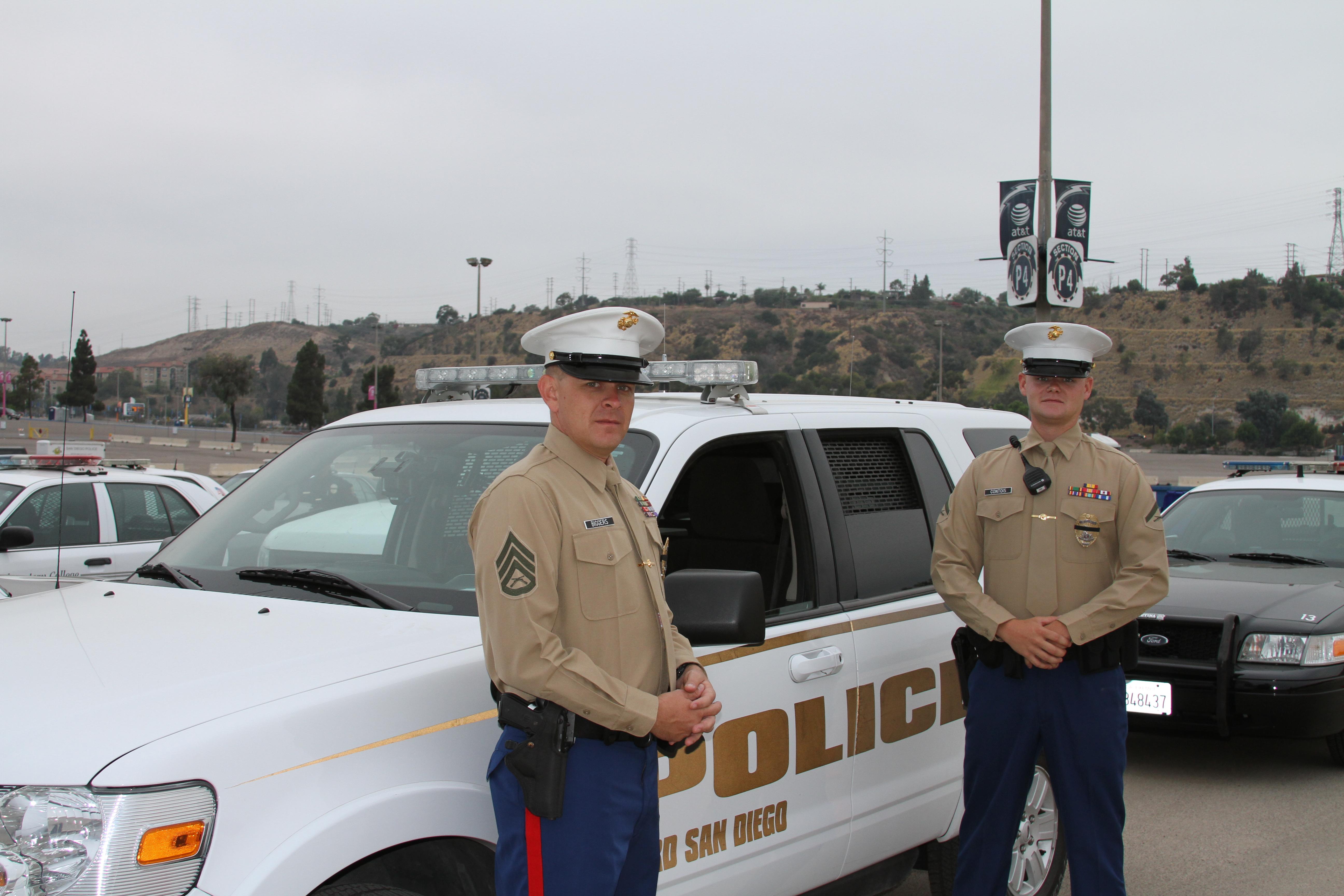 Depot law enforcement pays tribute to San Diego cop ...