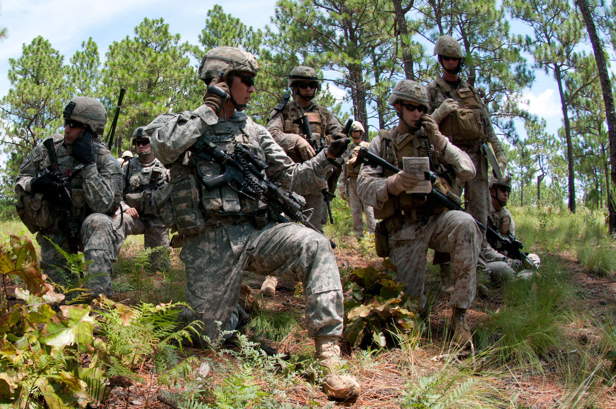 1st brigade platoon puts the l in anglico at ft. bragg > 2nd marine