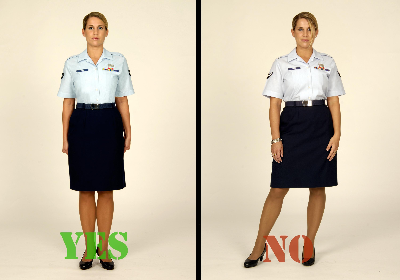 Original US Air Force Women 039 S Dress Blue Short Sleeve Shirt 14N 36B Current