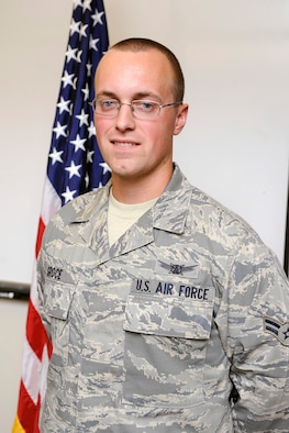 Airman 1st Class Joshua Groce, 11th Space Warning Squadron. (U.S. Air Force photo/Dave Ahlschwede)