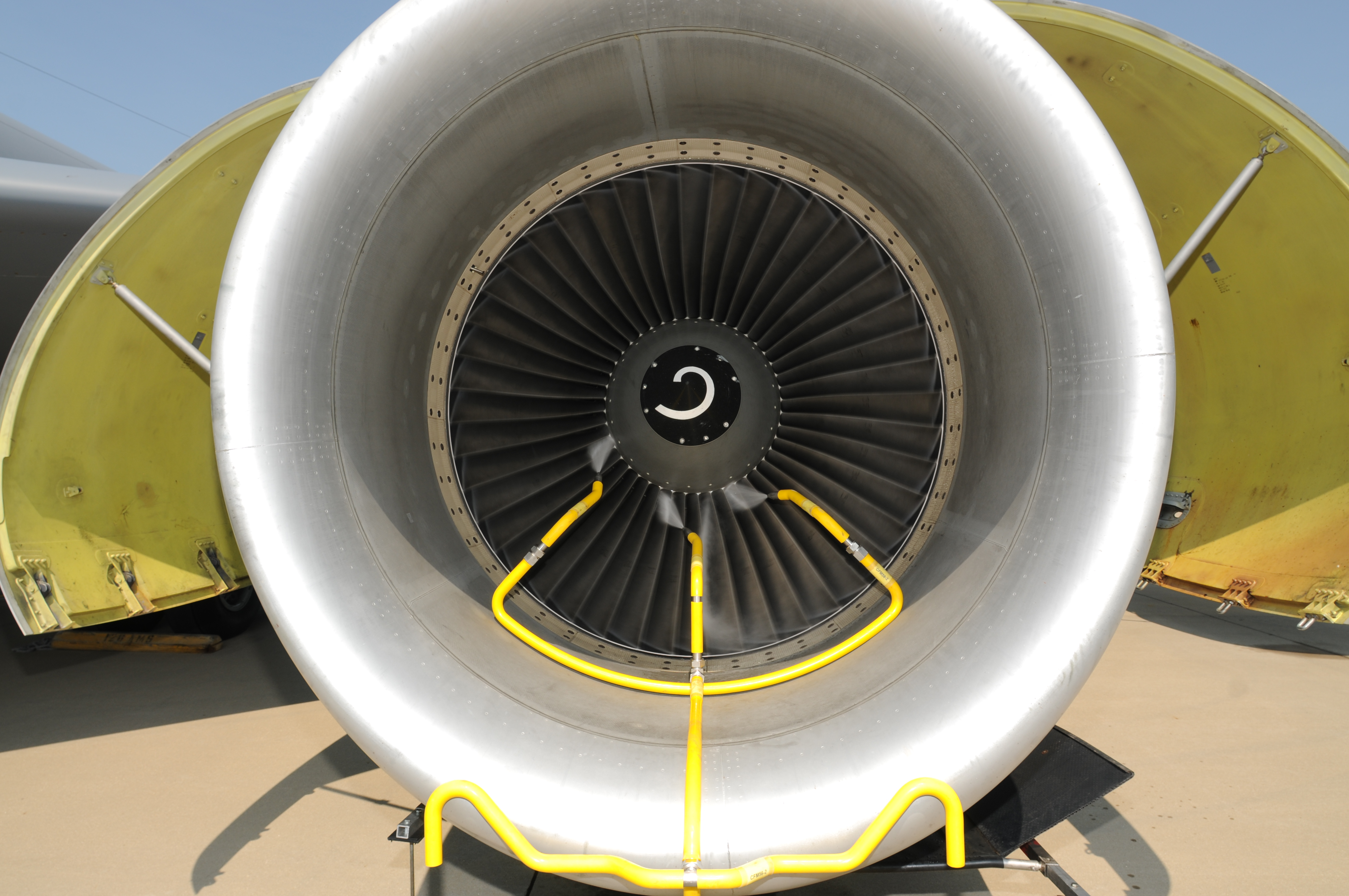 Kc 135 C 5 Engine Water Wash Test Could Reveal Fuel