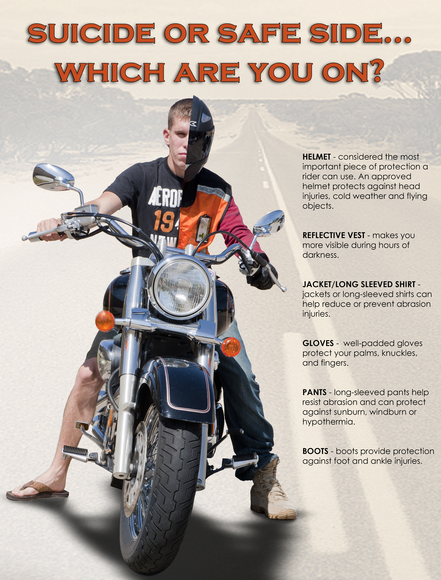 Attractive Rider Safe #6: Moody Working To Keep Motorcycle Riders Safe