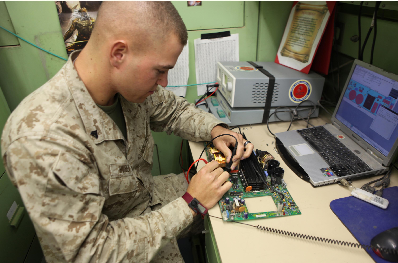 computer ccrs marines break 100k in equipment repair savings u003e 2nd marine