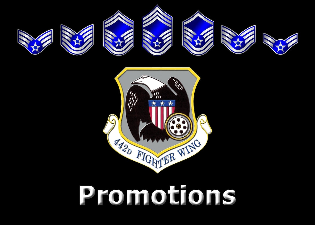 442nd Fighter Wing promotions