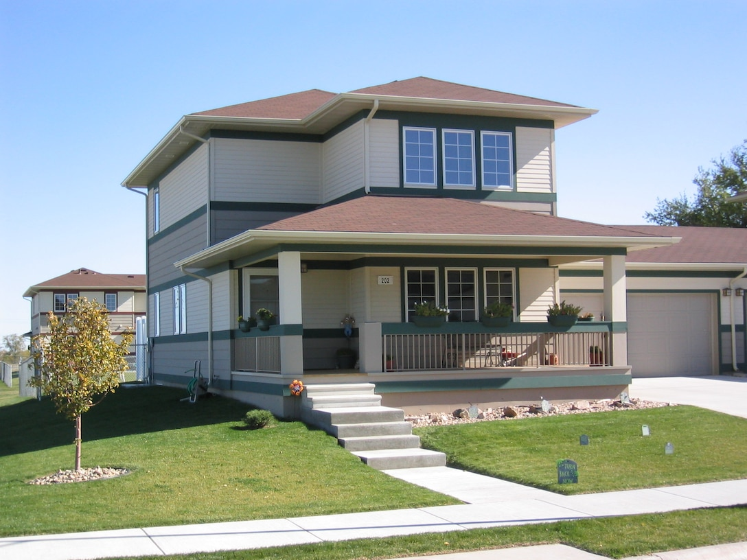 Military family homes in Rushmore Heights and Prairie View Estates will be part of the housing privatization at Ellsworth Air Force Base, S.D. in 2012. Additional information about the privatization will be provided via the web, in newspaper articles and during base town hall meetings. (U.S. Air Force file photo/Released)