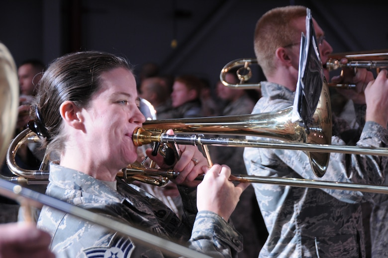 More commonly known as the Triple Nickel from the days when it was named 555th Air Force Band, the band has been in existence since the 1920s.  Existing well before the Air Force became a separate branch of the armed services, the band has gone through several name changes before earning its current title as Air National Guard Band of the Great Lakes.  For nearly 90 years the Air National Guard Band of the Great Lakes has been a symbol of professionalism and a source of excellent community relations.