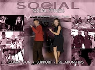 Air Force Space Command Comprehensive Airman Fitness social physical fitness poster. (U.S. Air Force graphic by Tamara Wright)