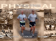 Air Force Space Command Comprehensive Airman Fitness physical fitness poster. (U.S. Air Force graphic by Tamara Wright)