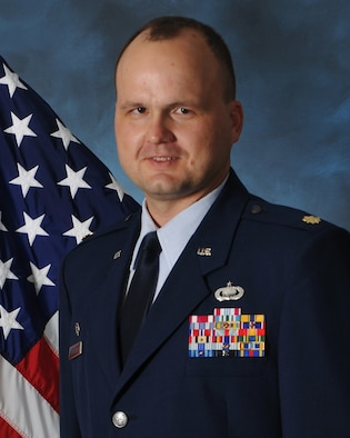 Maj. Alan Copeland, 36th Comptroller Squadron commander.  (U.S. Air Force courtesy photo)