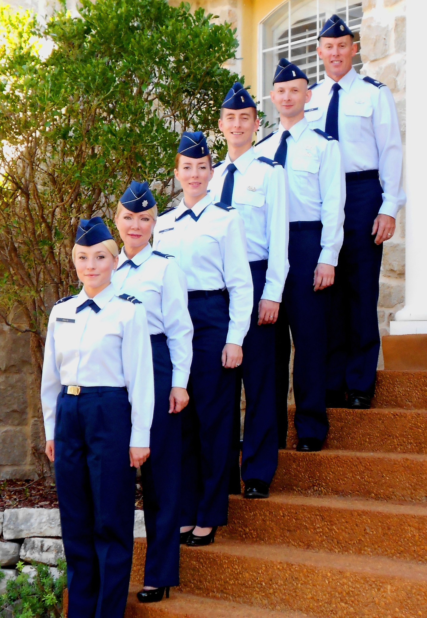 2019 year style- Air officer force blues uniform pictures