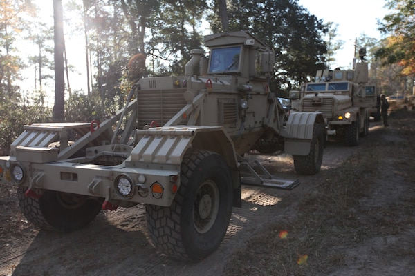Marines Train To Clear Routes Of Ieds Gt Marine Corps Base