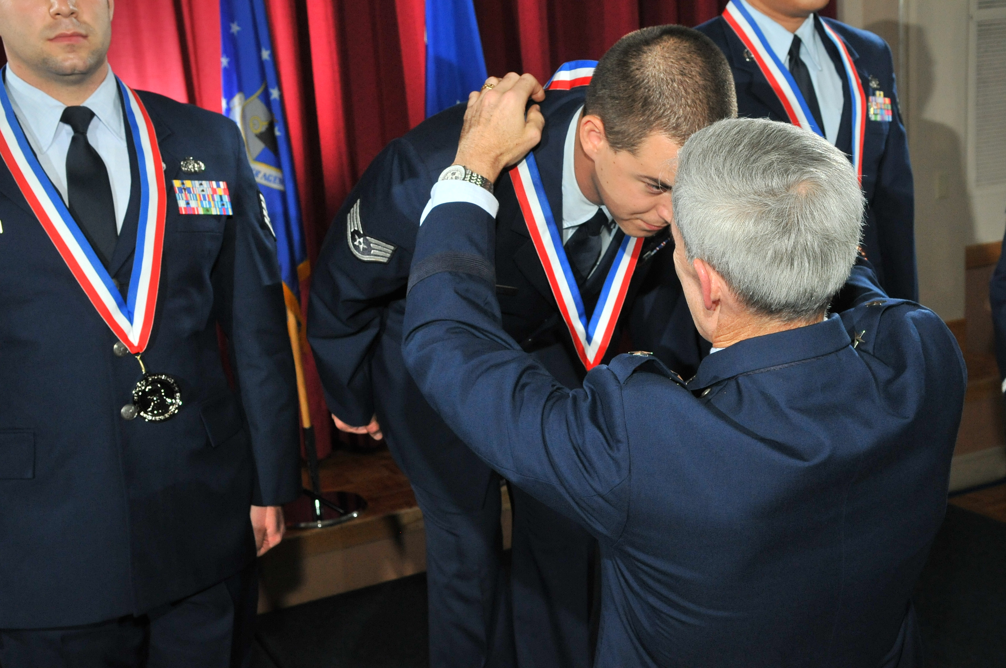 102nd air guardsman receives coveted afisra larson award for the hi res photo details