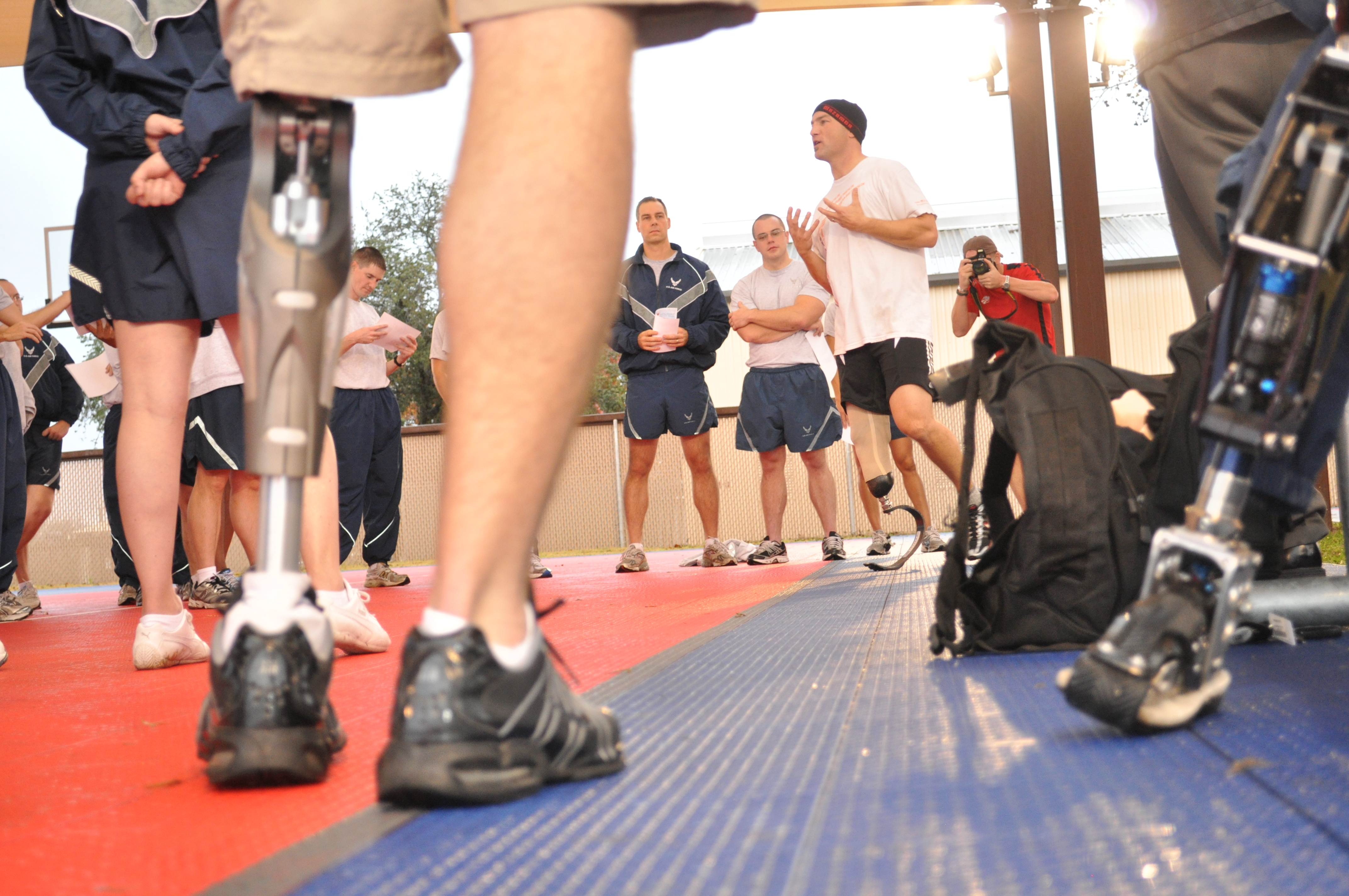 American300 Warrior Tour brings 'never quit' message to 24th