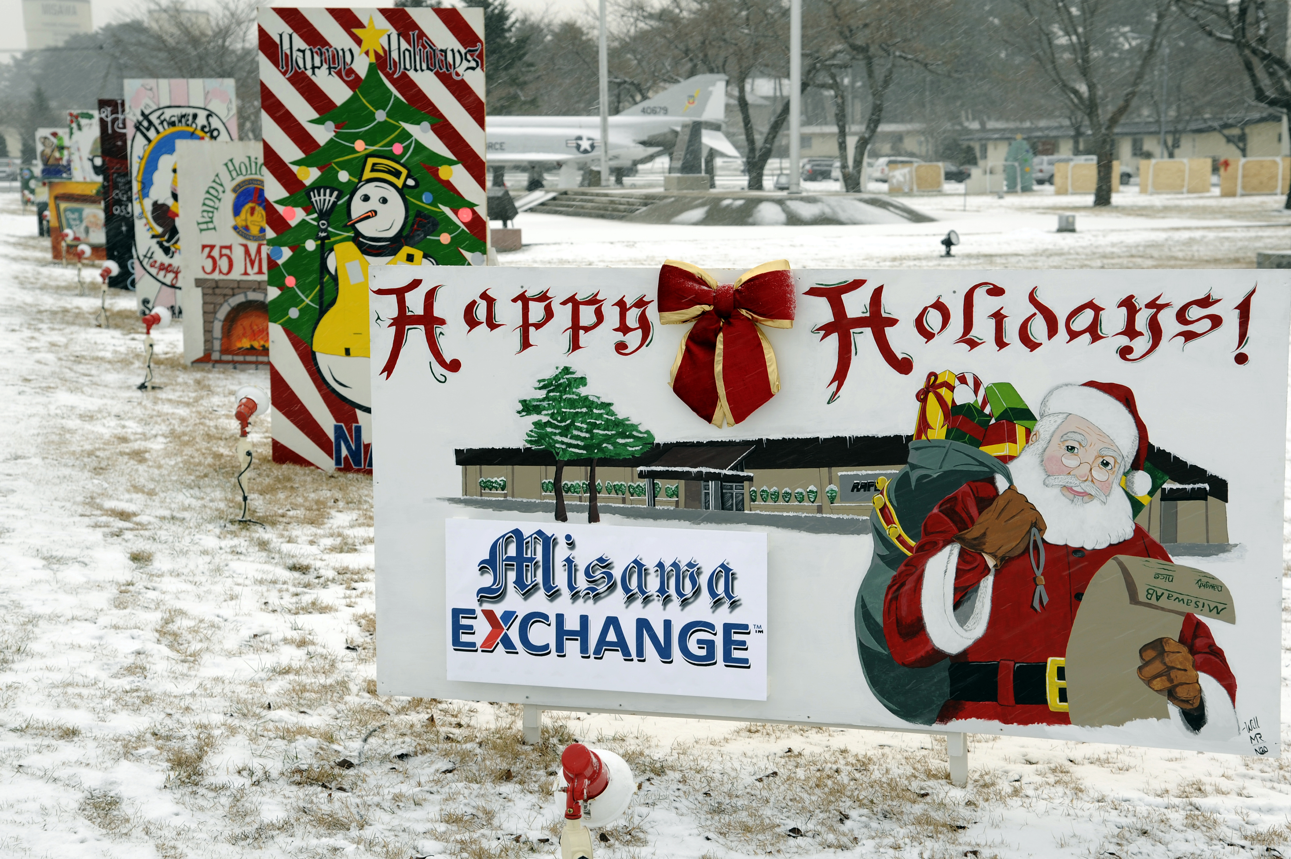 Holiday Greeting Card Contest Winners Announced Misawa Air Base