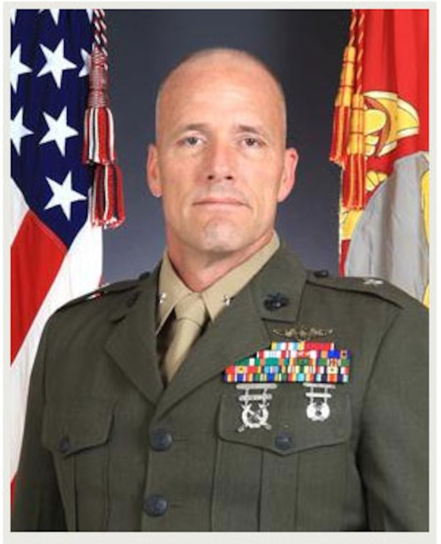 """BGen Christopher Owens grew up in Oregon and was commissioned in 1982. Earning his """"wings of gold"""" in September 1984, 2ndLt Owens was assigned to HML-367 as an AH-1 pilot, where he served in various billets, deployed with the squadron twice and attended Weapons and Tactics Instructor Course in 1987. He was promoted to captain in November of that year."""