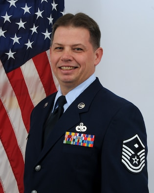 Master Sgt. Steve Stinsky, Delaware Air National Guard Outstanding First Sergeant of the Year for FY 2010. Sergeant Stinsky is the first sergeant, 166th Mission Support Group, part of the 166th Airlift Wing in New Castle, Del. He is a resident of Reading, Pa. (U.S. Air Force photo/Tech. Sgt. Tracy Childs)