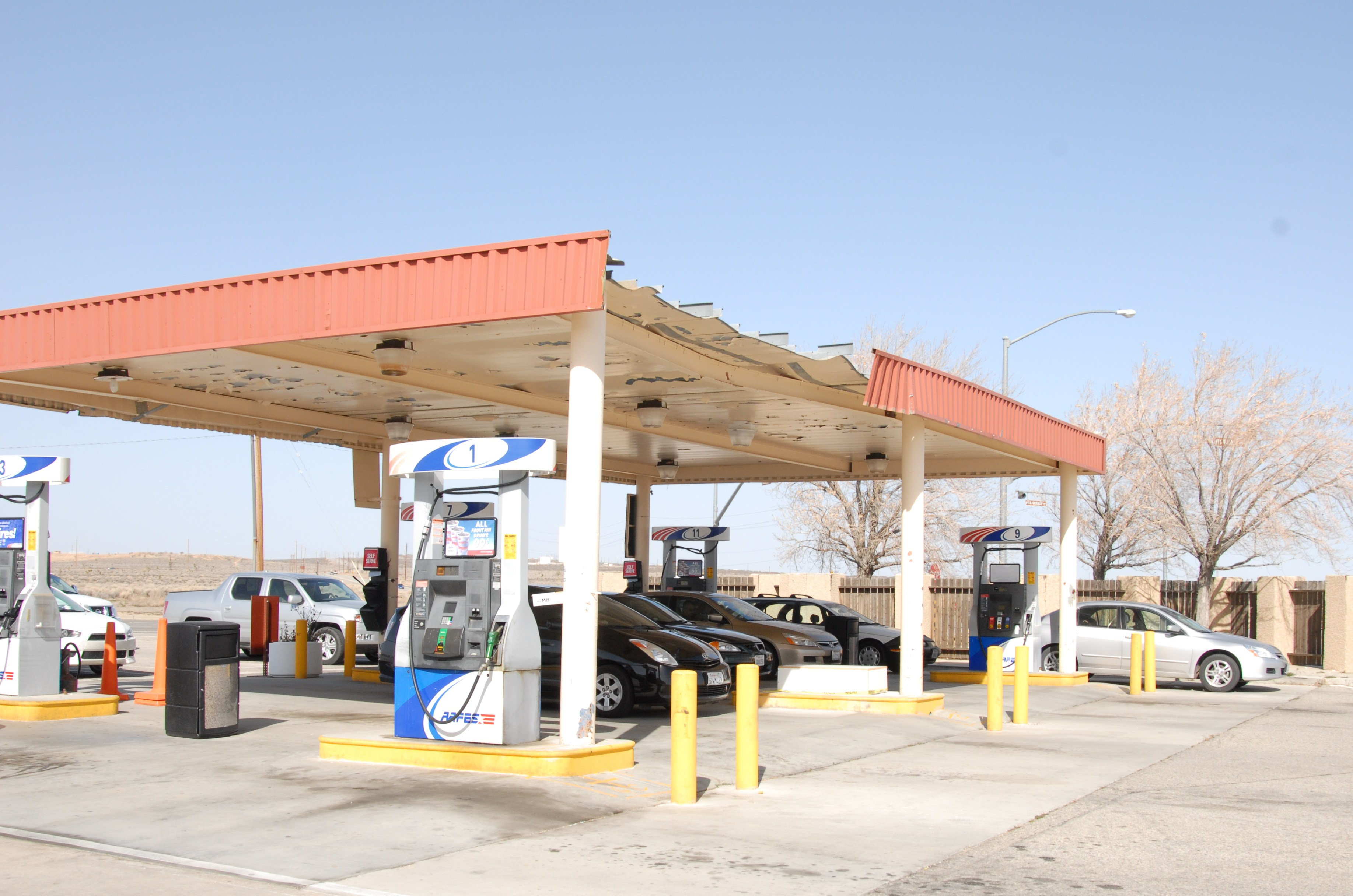 AAFES gas station to get new canopy : canopy for gas station - memphite.com