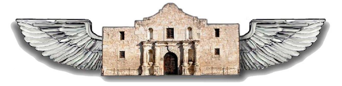 The Alamo Wing emblem (U.S. Air Force graphic/Senior Airman Luis Loza Gutierrez)