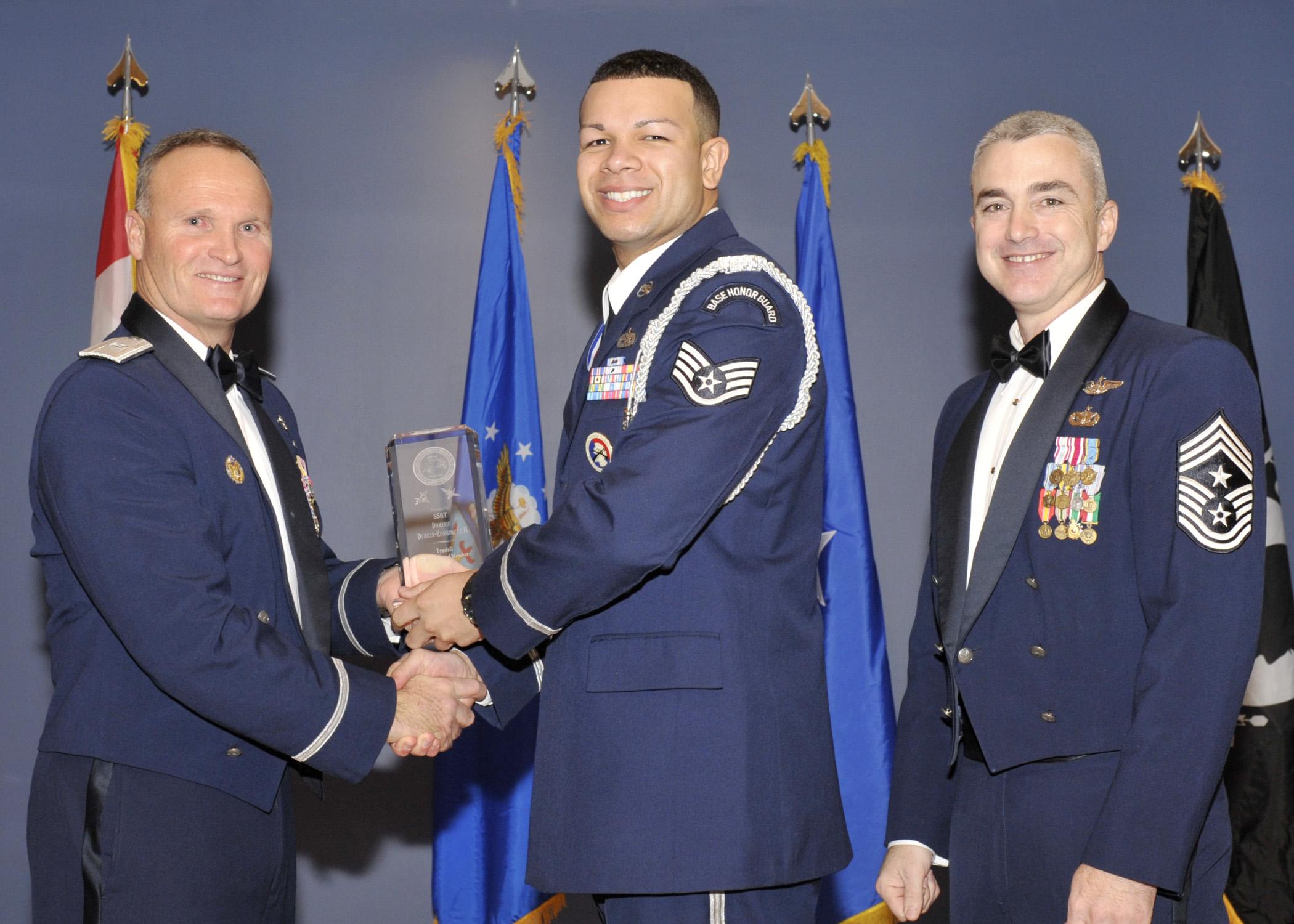 Tyndall sergeant earns Detachment NCO of the Year award