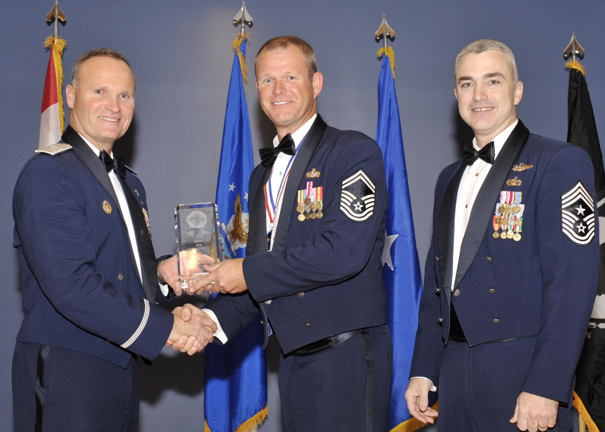 Tyndall Annual Award winners > Tyndall Air Force Base